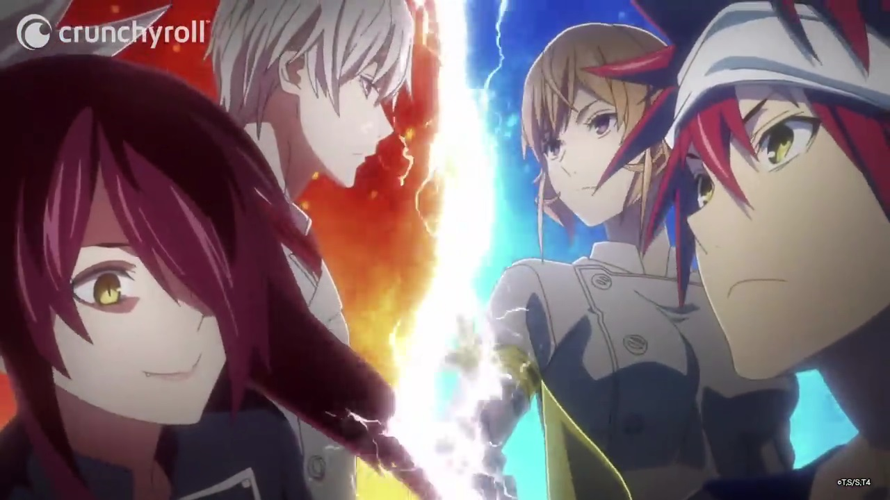 Inilah Elite Ten terbaru di Serial Shokugeki no Soma Season 4 Food Wars